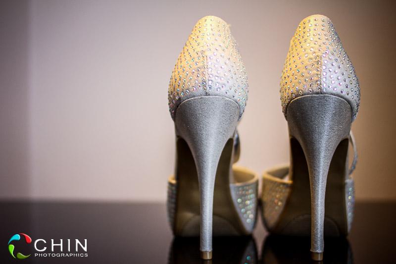 Bride shoes Jamaica Pegasus Wedding
