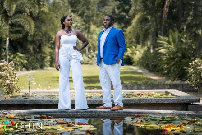 Beautiful black couple slay