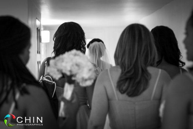 Bridal Party heading out - terra Nova Wedding
