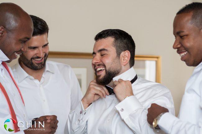 The groom prep - terra nova hotel