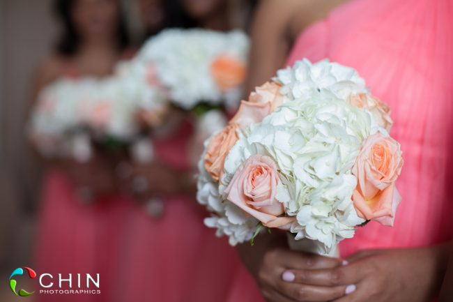 The Bridesmaids bouquets