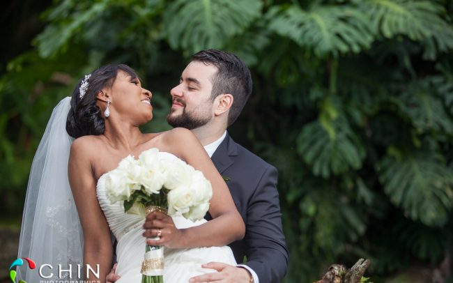 Jamaican Wedding Romantic Couple Enric and Alicia