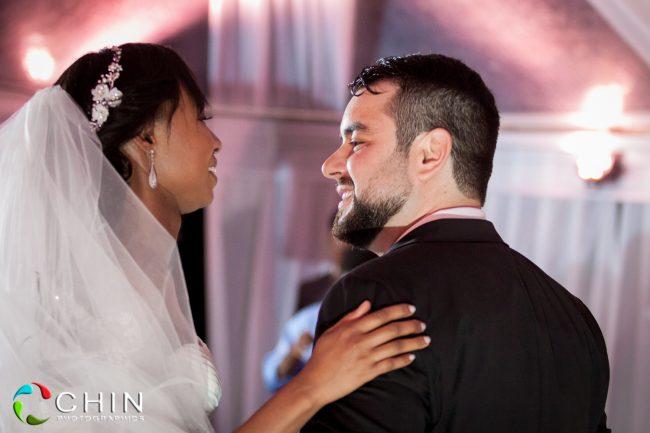 Boone Hall Oasis Wedding Happy Couple