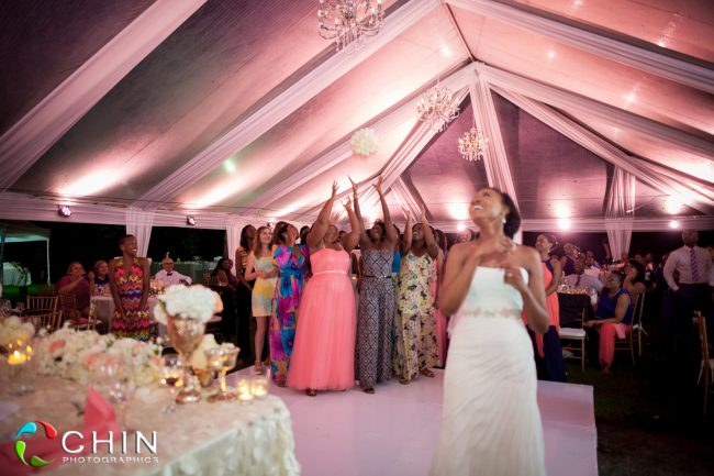 Boone Hall Oasis Wedding Bouquet Toss