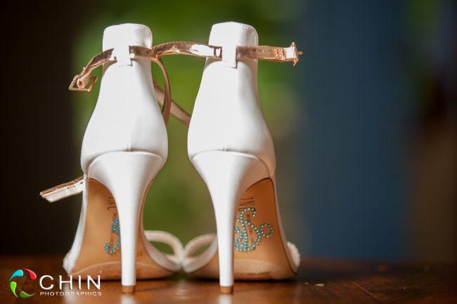 Jamaican Wedding Photographer Bride Shoes