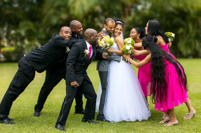 happy-bridal-party-jamaica-pegasus