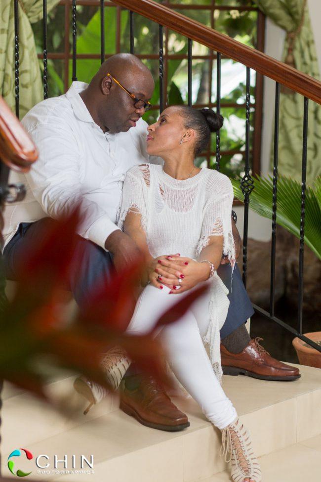 Golden Castle Montego Bay Engagement | Kimone & Haywood 15